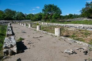 Římské sídliště, Krk