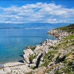 Pobřeží ostrova Krk, Chorvatsko