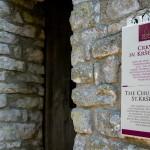 Vchod do kostelíka sv.Petra