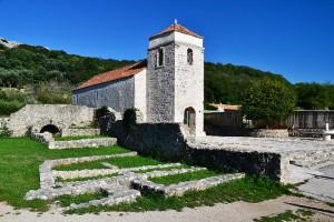 Kostel Svaté Lucie, ostrov Krk