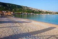 Pláž Baška, Krk - Chorvatsko