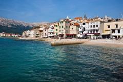 Pláž v Bašce - Dovolená Chorvatsko