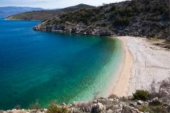 Pláž Vrbnik, Krk - Chorvatsko