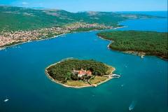 košljun Punat, Krk - Chorvatsko