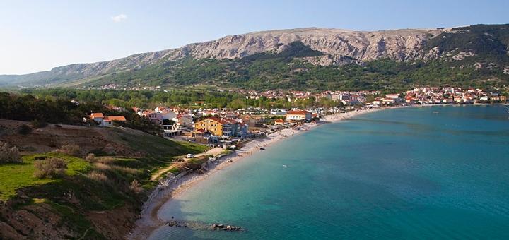 Pláž Baška, Krk